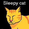 Uykulu kedi oyunu