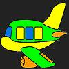 Özel uçak boyama oyunu