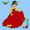 Spring prom princess coloring oyunu