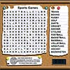 Sports Wordsearch oyunu