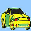 Spectacular fast car coloring oyunu