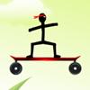 Çöp Adam kaykay-Bike Challenge oyunu
