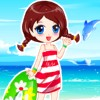 Yaz plaj Giydirme oyunu