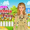 Yaz doğum günü partisi oyunu