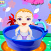 Sweet Baby Bathing oyunu