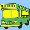 Vacation bus coloring oyunu