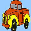 Village truck coloring oyunu