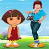 Zoe ile Dora Giydir oyunu